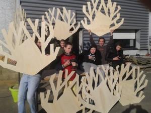 fabrication des arbres